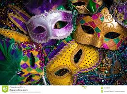 mardi gras masks mardi gras masks with stock photo image 49702576