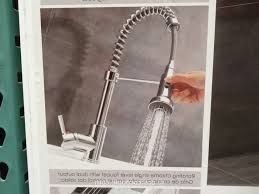 costco kitchen faucet waterridge style pull out kitchen faucet costco weekender
