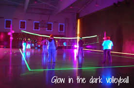 Glow In The Dark Party Decorations Ideas Volleyball Party Ideas Creative Party Themes And Ideas