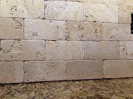 tumbled marble backsplash kitchen and residential design reader