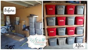 gift garage shelving ideas diy storage shelves tutorial katie u0027s
