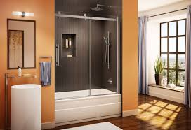 Bathroom Shower Door Sliding Shower Doors Frameless Sliding Glass Bathroom Doors