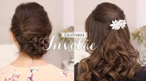 coiffure pour mariage invit coiffures faciles invitée mariage baptême