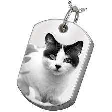 photo engraved dog tags photo laser engraved pet cremation jewelry dog tag