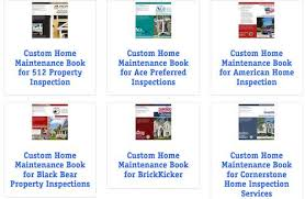 Books For Home Design Customized Home Maintenance Books Internachi