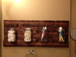 bathroom mason jar holder for the home pinterest mason jar