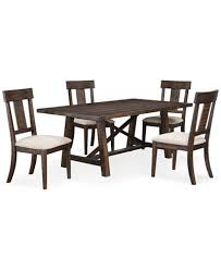 ember 5 piece dining room furniture set created for macy u0027s