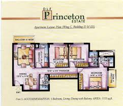 princeton housing floor plans dlf princeton estate sector 53 dlf 5 golf course road gurgaon