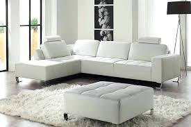 canapes cuir blanc canape cuir blanc angle convertible fair t info