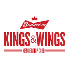 budweiser and wings