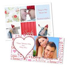 custom valentines day cards photo cards custom valentines day cards winkflash
