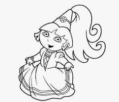 colour drawing free wallpaper princess dora coloring drawing free