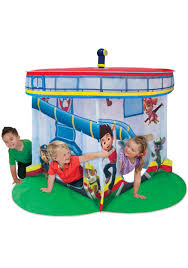 paw patrol lookout center play tent