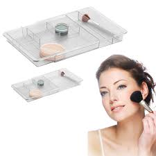 amazon com serene bathroom vanity expandable drawer organizer