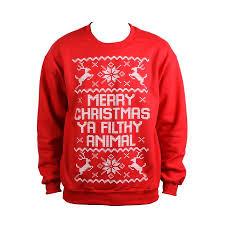 mens merry ya filthy animal sweater