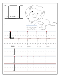 Writing The Alphabet Worksheets Traceable Alphabets For Children Activity Shelter