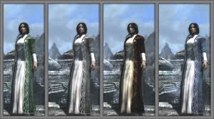wedding dress skyrim grace darklings ranger dress at skyrim nexus mods and community