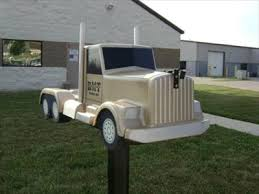 themed mailbox semi truck mailbox franklin ohio themed mailboxes
