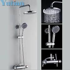 Bathroom Shower Set Shower Facuet Bathroom Shower Set Mixer Brass Valve Adjust Height
