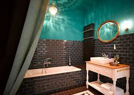 15 turquoise interior bathroom design ideas home design eclectic bathrooms with a splash of delightful blue