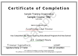 training certificate template 10 certificate of completion