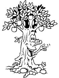 dessin de pommier