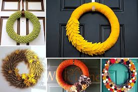 diy wreaths funky diy wreaths for the fall season