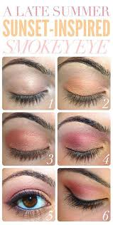 12 simple summer eye make up tutorials 2016