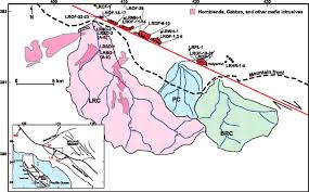 San Andreas Fault Line Map Dating Offset Fans Along The Mojave Section Of The San Andreas