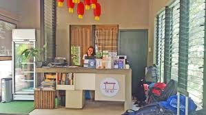 Accessible Reception Desk Spin Hostel U2013 The Best Place To Stay In El Nido Palawan