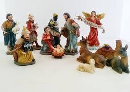 home interior jesus figurines 12 nativity set jesus statue figurine