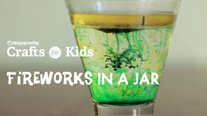 video diy fireworks in a jar watch crafts for kids online