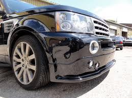custom nissan 350z body kits range rover front bumper installation at rt performance in london jpg