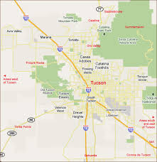 cities map tucson area intergroup locations by city