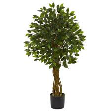 nearly natural uv resistant indoor outdoor ficus artificial tree