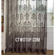 Shabby Chic Voile Curtains Patterned Cool Shabby Chic Ready Made Custom Sheer Curtains