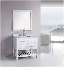 make your modern bathroom with open shelf bathroom vanity u2013 modern