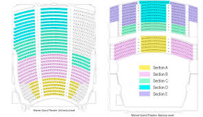 Staples Center Seat Map Warner Grand Theatre Los Angeles Tickets Schedule Seating