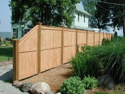 modern privacy fence design idea and decorations