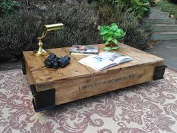 Rustic Industrial Coffee Table Cool Rustic Industrial Styled Pallet Coffee Table Gentlemint