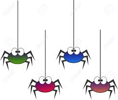 colourful spiders royalty free cliparts vectors and stock