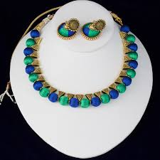 choker necklace jewelry images Indian silk thread jewelry set antique choker necklace and jpg