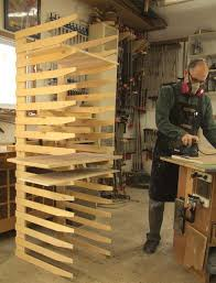build a knock down finishing rack canadian woodworking magazine