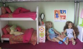 Dollhouse Bed For Girls by How To Make A Cheap Dollhouse For American Dolls U2013 Clue Wagon