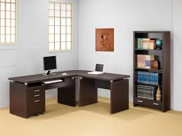 Corner Writing Desk by Contemporary Black L Shaped Writing Desk With File Cabinets Best