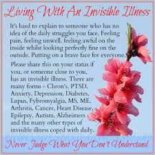 Invisible Illness Meme - pin by samantha hallam on quotes that mean something pinterest