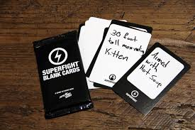 blank cards superfight blank cards 20 card pack skybound