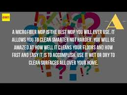 what is a microfiber mop