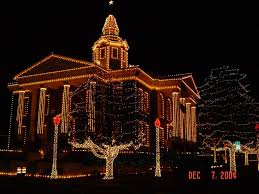 paris ar logan county courthouse in paris ar decorated for