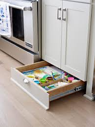 kitchen cabinet toe kick ideas best ways to store more in your kitchen better homes gardens